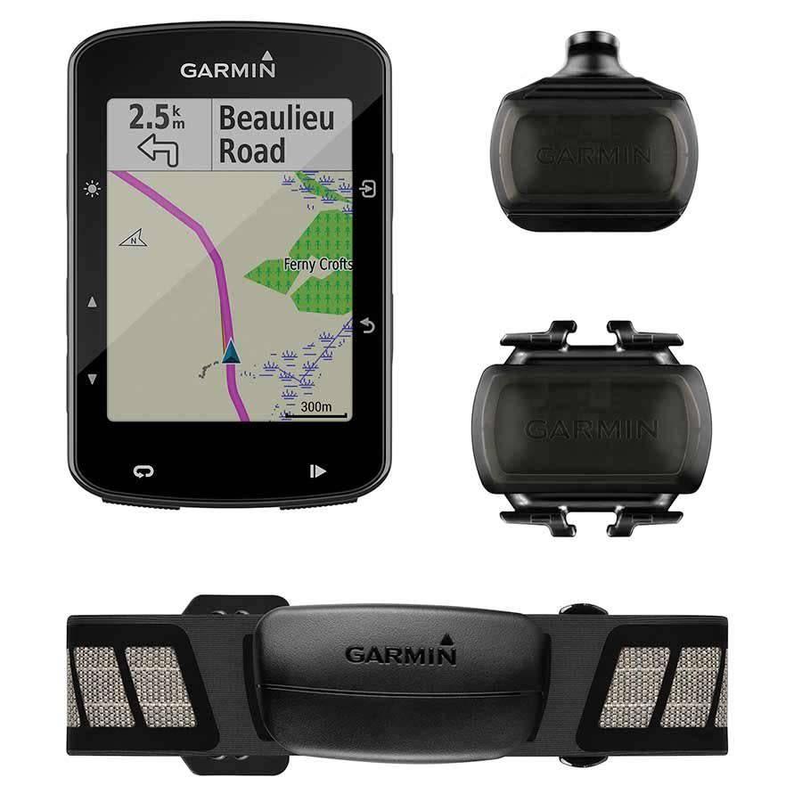 Garmin, Edge 520 Plus Bundle, Cmputer, GPS: Yes, HR: Yes (Chest), Cadence: Yes, Black, 010-02083-01