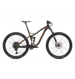 NS Bikes NS Snabb PLUS1 130 Bike, Army Green/Brown/Black 2018