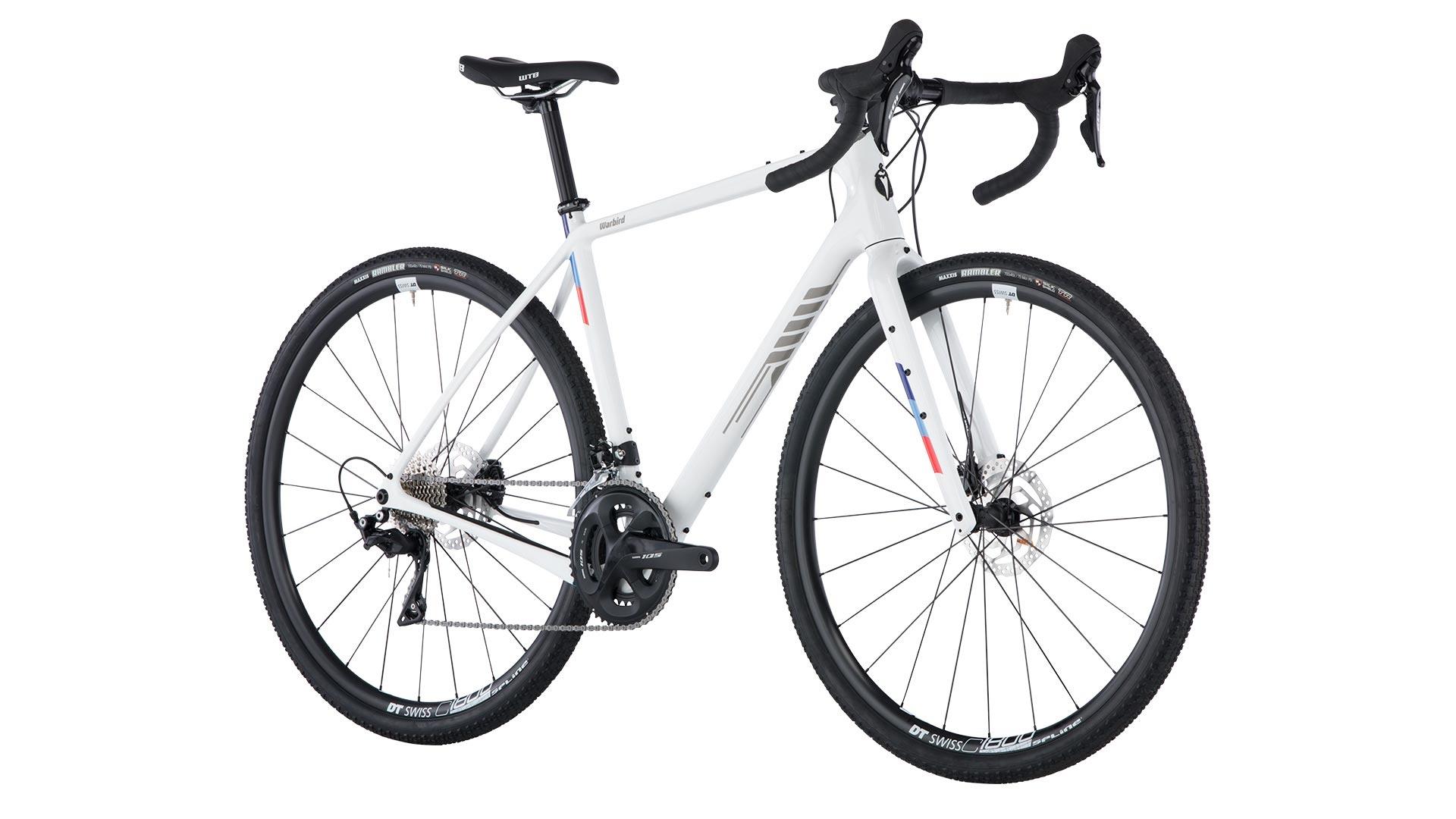 Salsa Salsa Warbird Carbon 700c 105 Bike, White 2019
