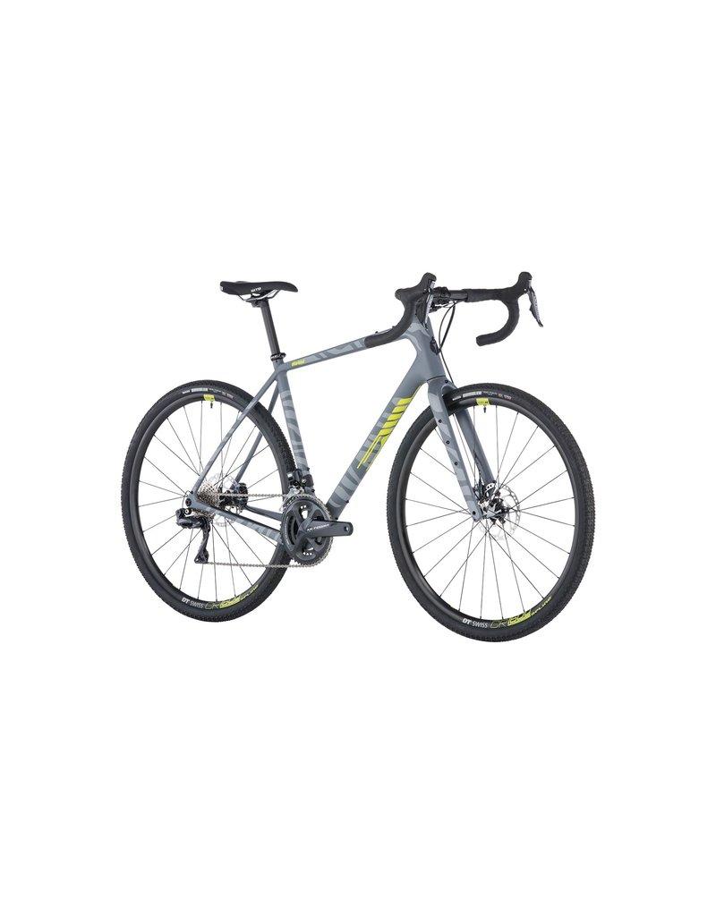 Salsa Salsa Warbird Carbon 700c Ultegra Di2 Bike, Gray Zebra 2019