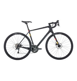 Salsa Salsa Warbird Carbon 700c Tiagra Bike, Raw Carbon 2019