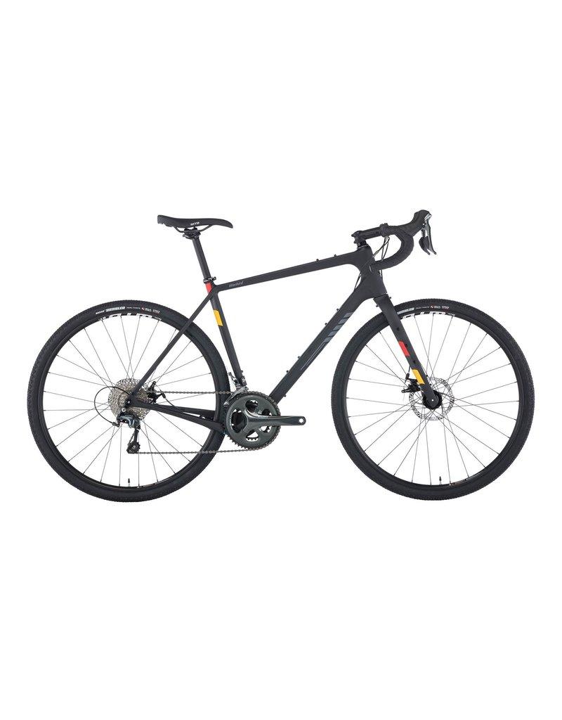 Salsa Salsa Warbird Carbon 700c Tiagra Bike, Raw Carbon 2019