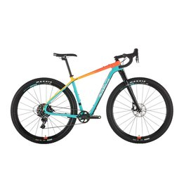 Salsa Salsa Cutthroat Force 1 Bike Teal/Orange Fade 2019