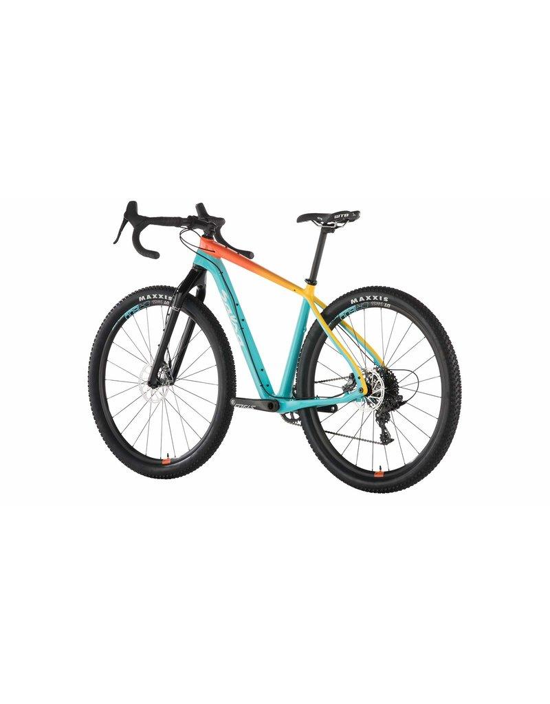Salsa Salsa Cutthroat Force 1 Bike Teal/Orange Fade 2019