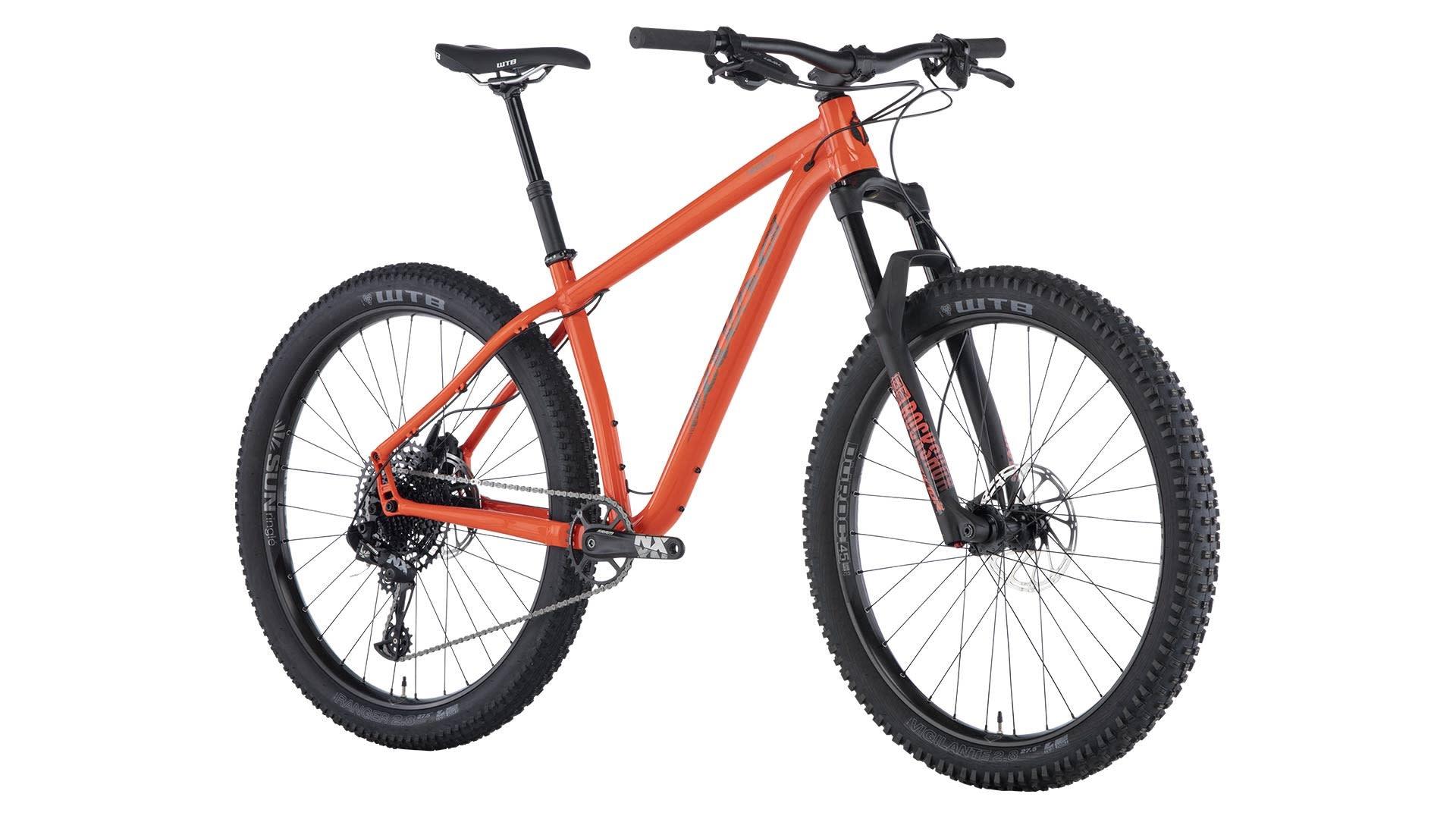 Salsa Salsa Timberjack NX Eagle 27.5+ Bike Red/Orange 2019