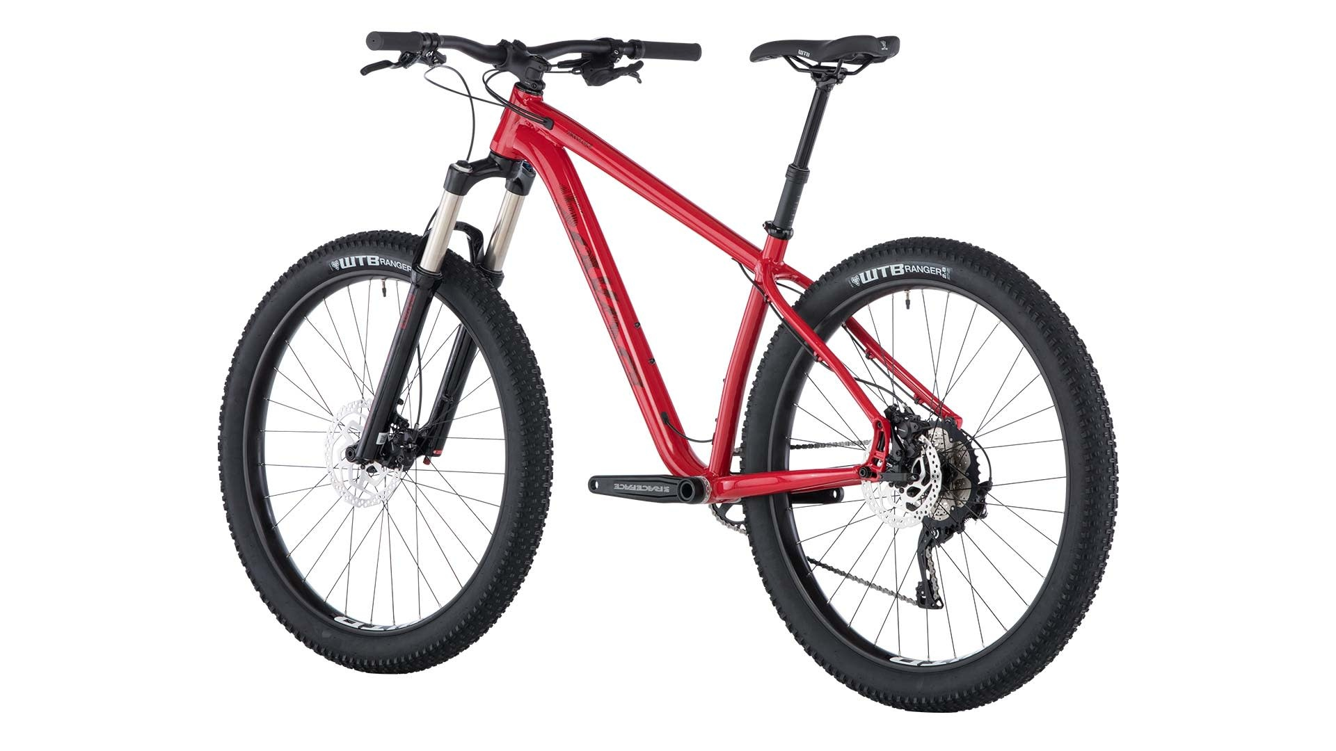 Salsa Salsa Timberjack Deore 1x 27.5+ Bike Red  2019