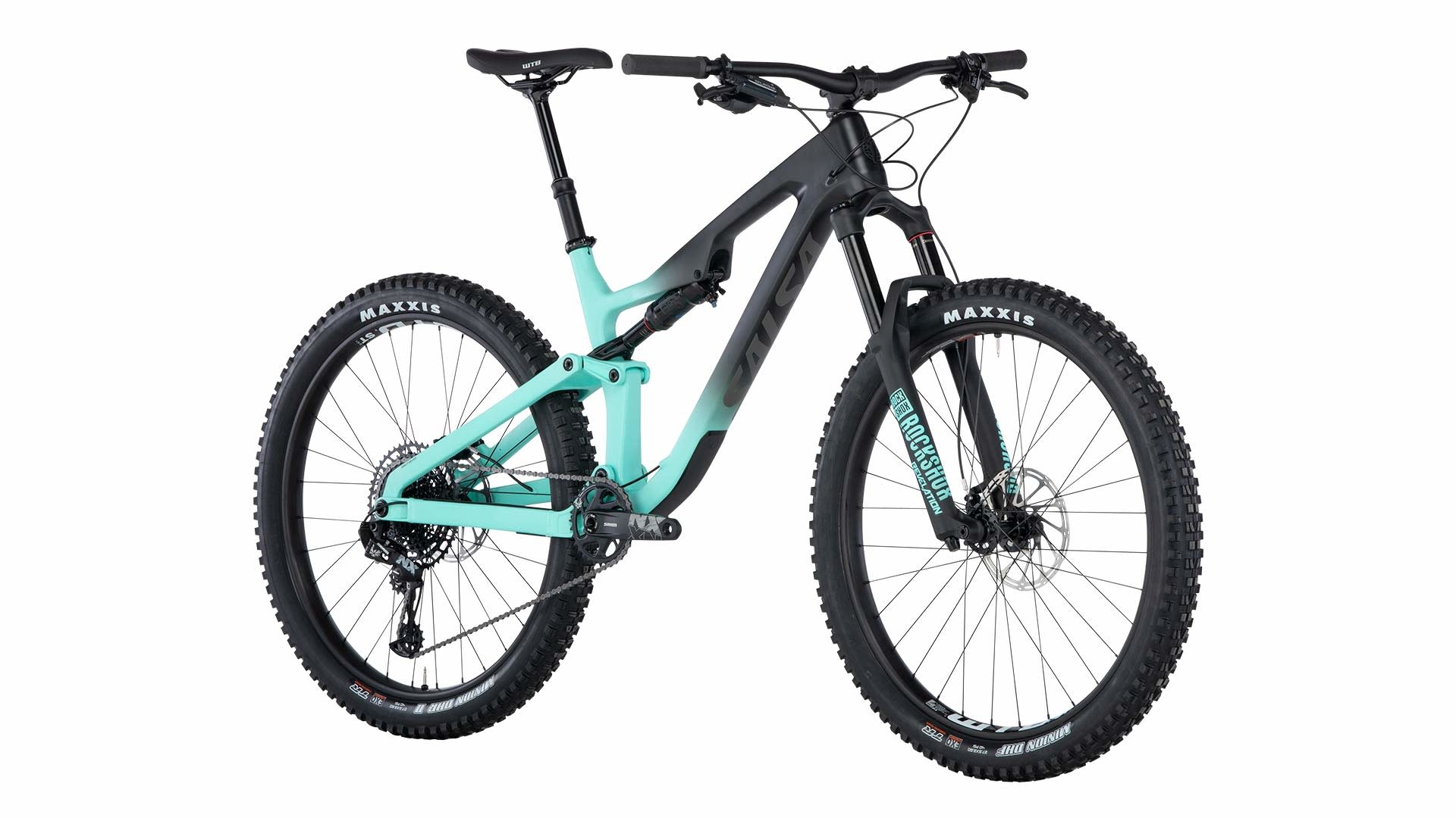 Salsa Salsa Rustler Carbon NX Eagle Bike Black/Blue/Fade 2019