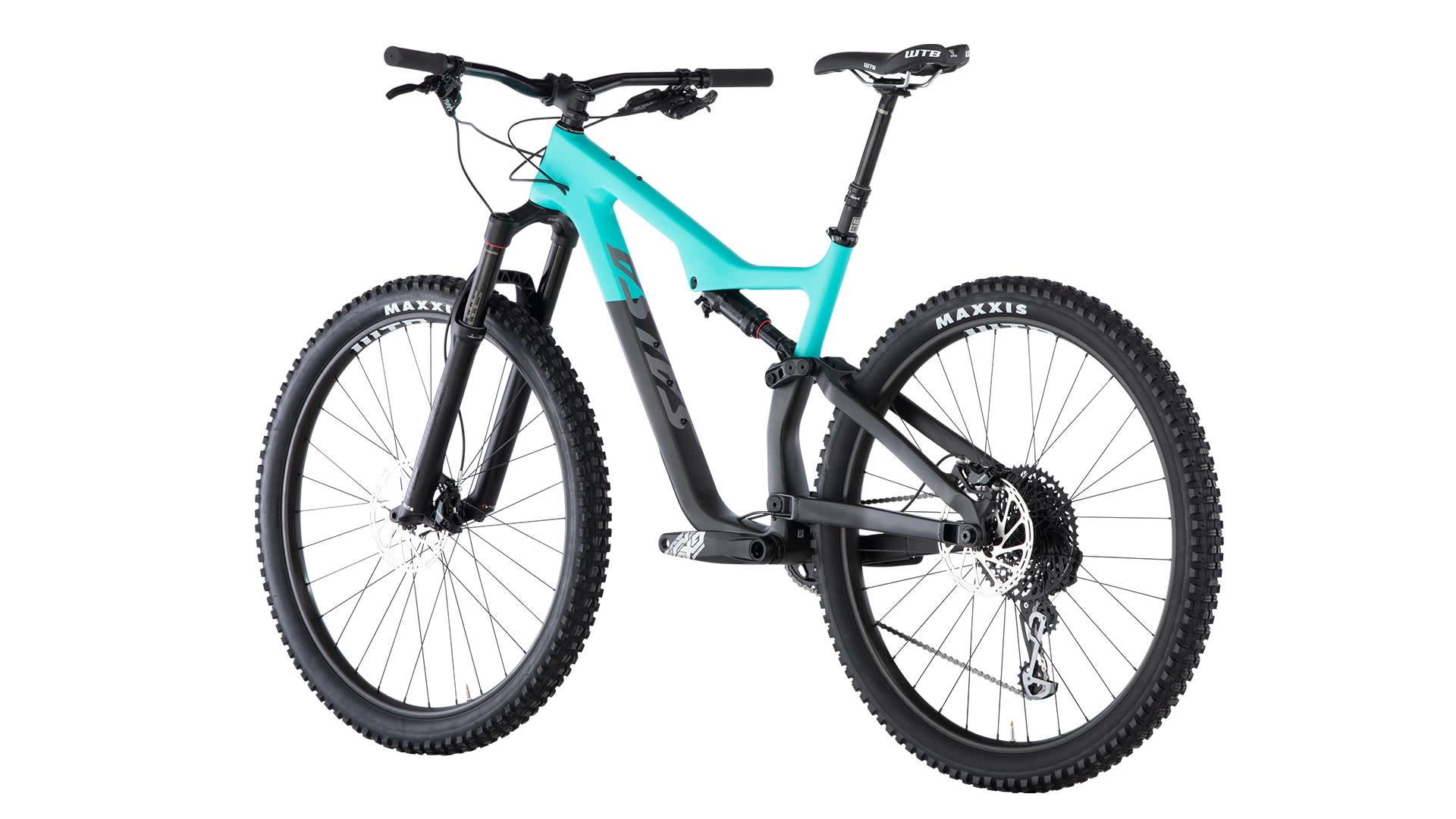 Salsa Salsa Horsethief Carbon GX Eagle Bike Teal/Raw Carbon 2019