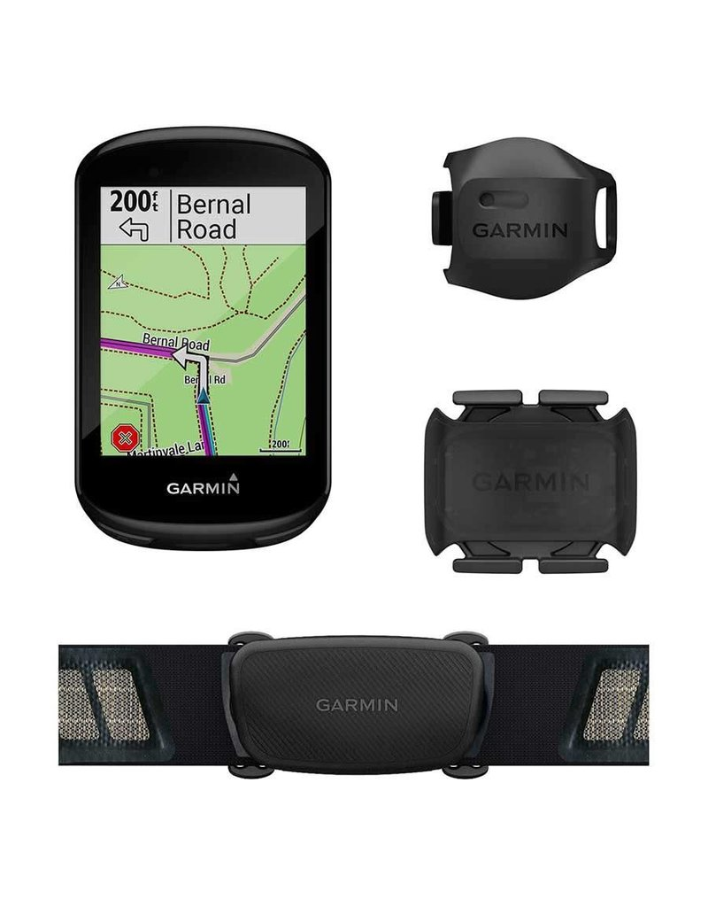 Garmin, Edge 830 Bundle, Computer, GPS: Yes, HR: Yes (Chest), Cadence: Yes, Black, 010-02061-10