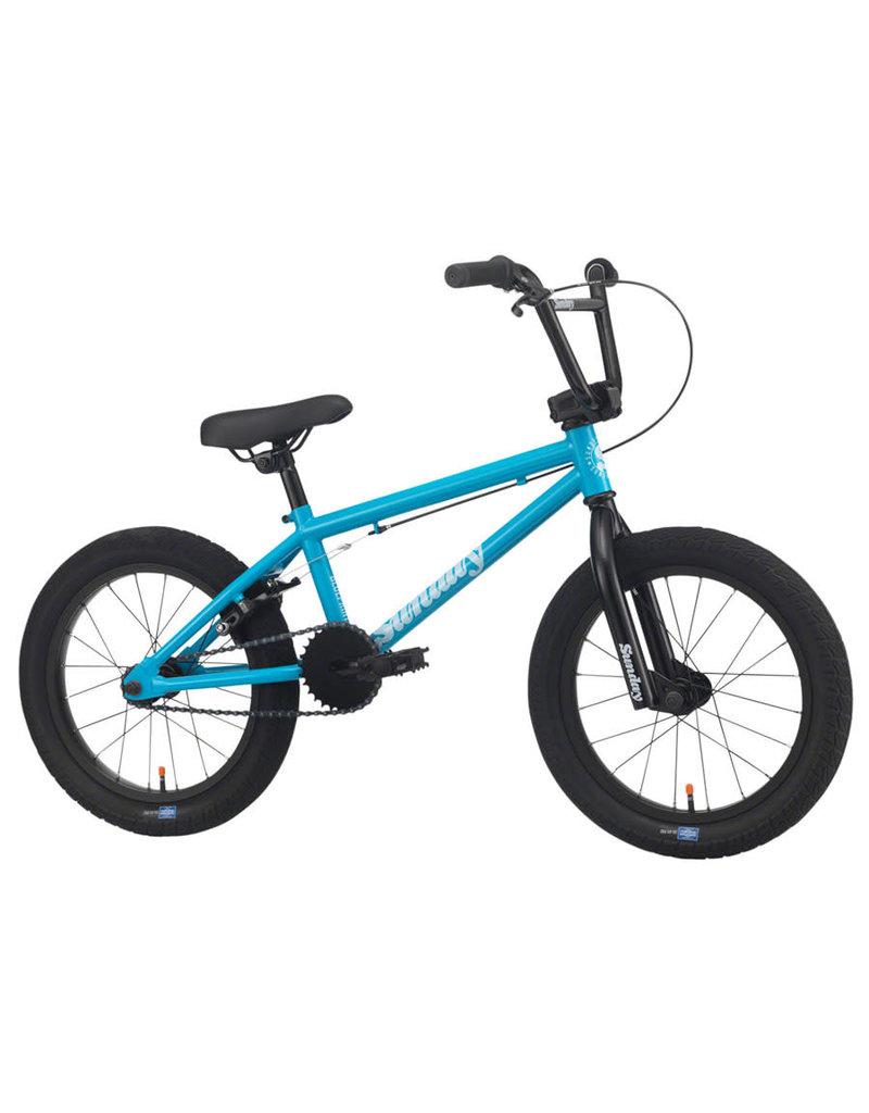 "Sunday Sunday Primer 16"" BMX Bike - 16.5"" TT, Gloss Toothpaste 2020"