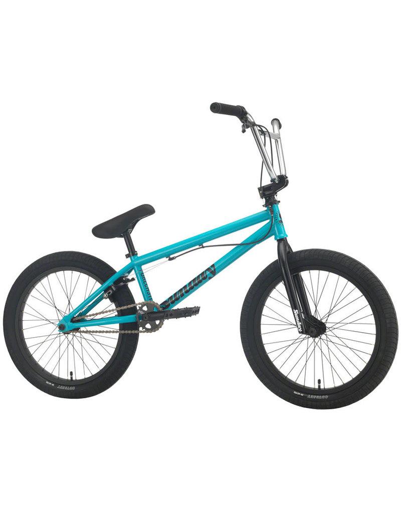 """Sunday Sunday Forecaster BMX Bike - 20.5"""" TT, Gloss Turquoise 2020"""