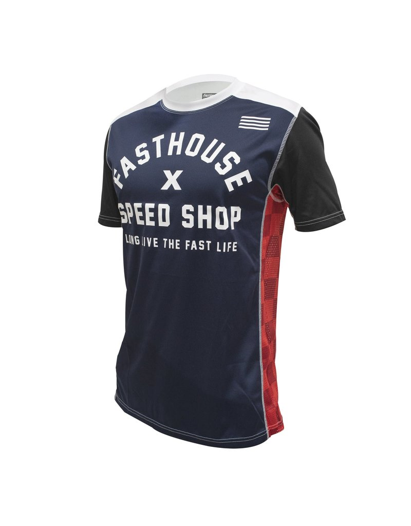 Fasthouse Fasthouse Classic Heritage SS Jersey - Navy