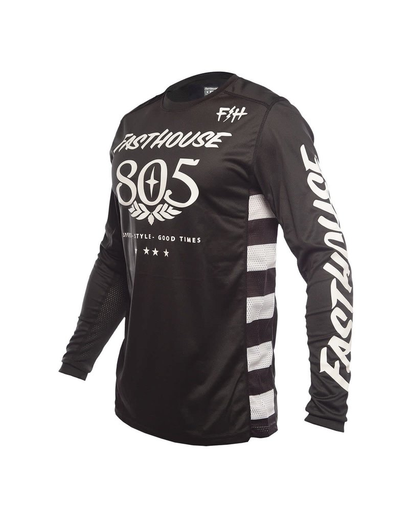 Fasthouse Fasthouse Classic 805 LS Jersey - Black