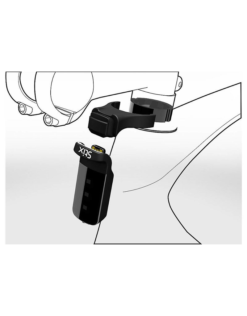 Specialized STIX HEADSET SPACER MOUNT - Black with Ano Spacer .