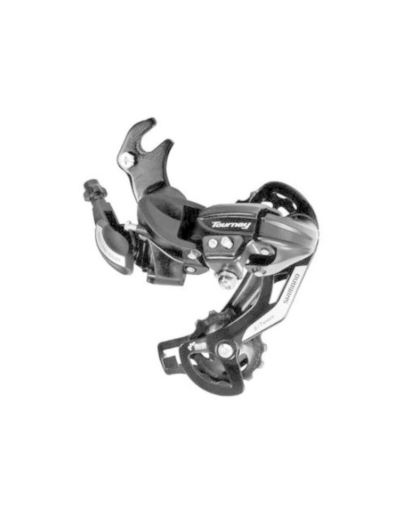 Shimano REAR DERAILLEUR, RD-TY500, TOURNEY, 6/7-SPEED, W/RIVETED