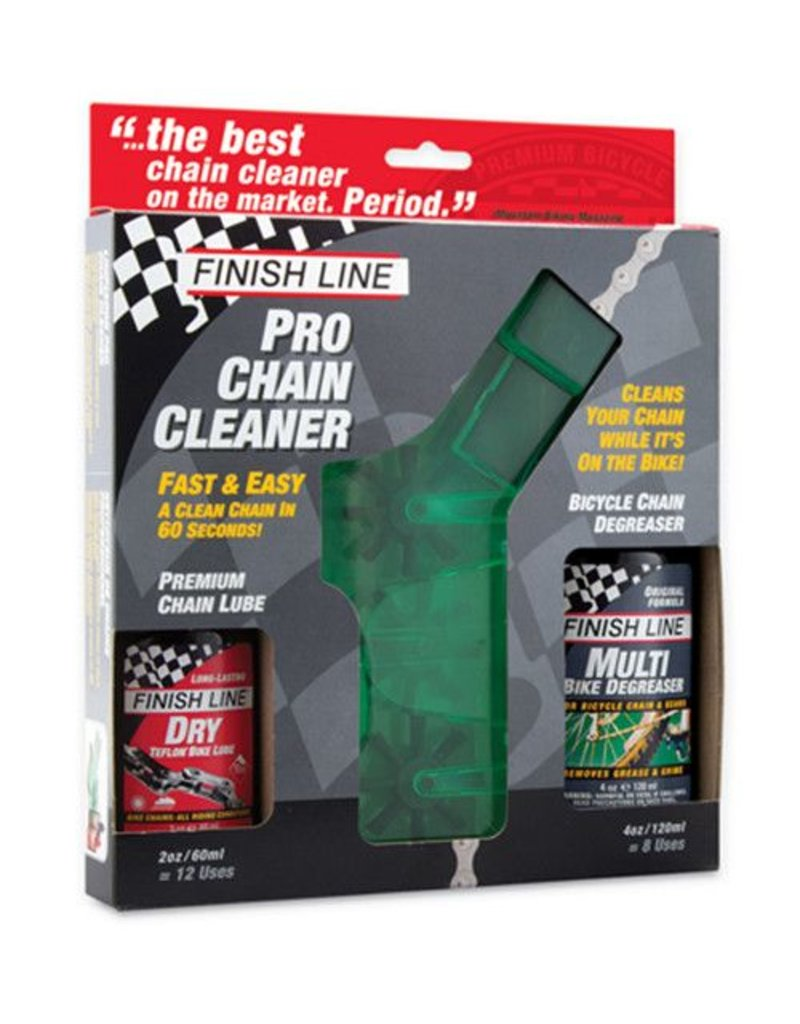Finishline Shop Quality Chain Cleaner Kit