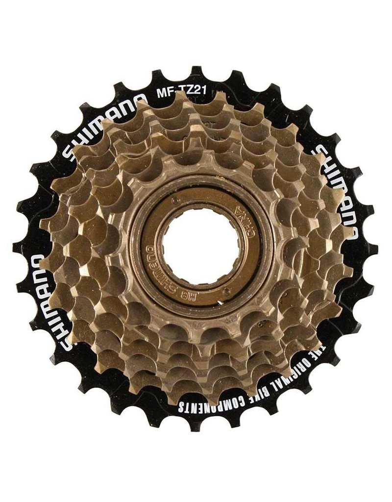 Shimano Shimano, MF-TZ31, 7sp freewheel, 14-34T