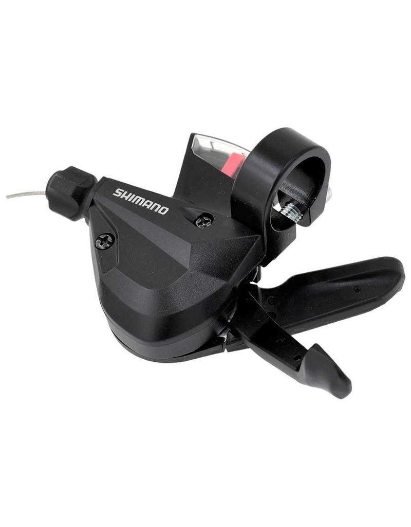 Shimano SHIFT LEVER, SL-M310, LEFT 3-SPEED 1800MM STAINLESS INNER, W/ OPTICAL GEAR DISPLAY, IND.PACK
