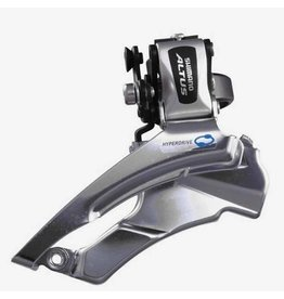 Shimano Shimano, Altus FD-M313, Front derailleur, 3x7/8sp., Down swing, Dual pull, Multi clamp, For 42/48T