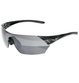 Tifosi Tifosi, Podium, Sunglasses, Frame: Black, Lenses: Smoke, AC Red, Clear