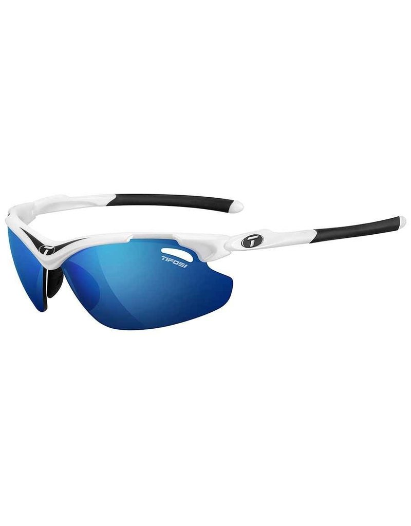 Tifosi Tifosi, Tyrant 2.0, Sunglasses, Frame: White/Black, Lenses: Clarion Blue, AC Red, Clear
