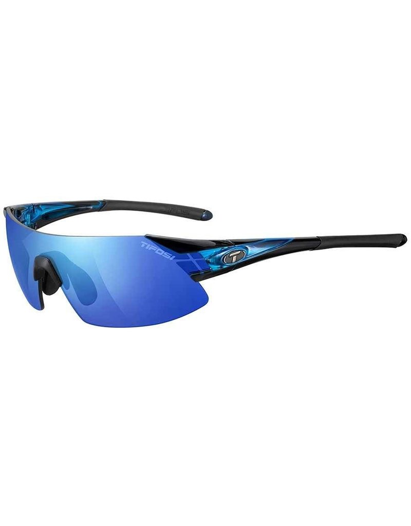 Tifosi Tifosi, Podium XC, Sunglasses, Frame: Crystal Blue, Lenses: Clarion Blue, AC Red, Clear