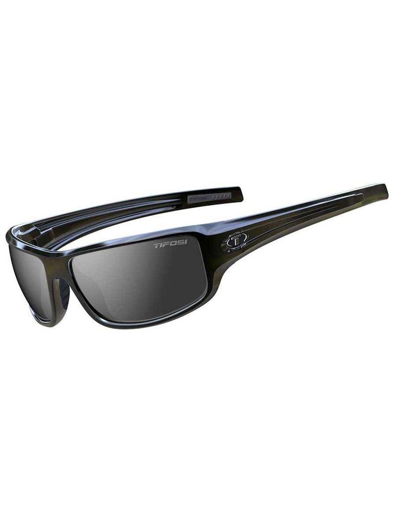 Tifosi Tifosi, Bronx, Sunglasses, Frame: Gloss Black, Lenses: Smoke