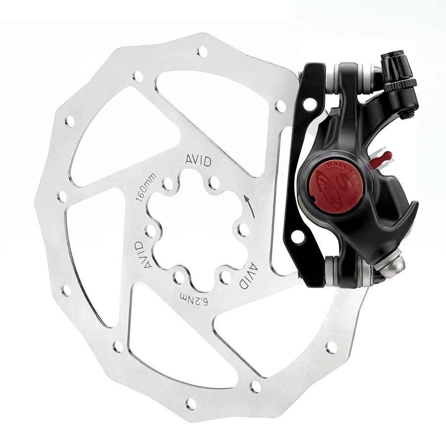 Avid Avid, BB5 MTB, Mechanical disc brake, Front or rear, 160mm, Black