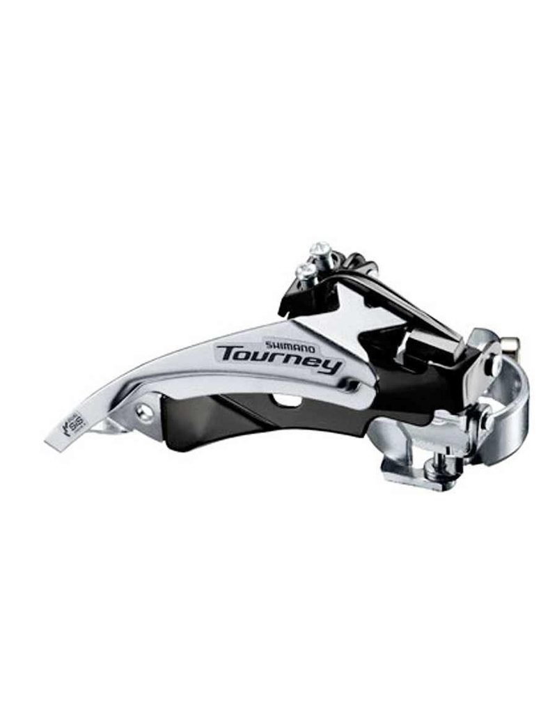 Shimano Shimano, Tourney FD-TY500 / TY510, Front derailleur, 6/7sp., Top Swing, dual Pull, Low, 34.9/31.8/28.6mm