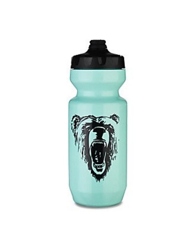 Specialized PURIST FIXY 22 OZ BOTTLE - EACH - Teal/Black California Bear