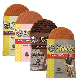 Honey Stinger Honey Stinger, Waffles, Box of 16 x 34g, Vanilla single