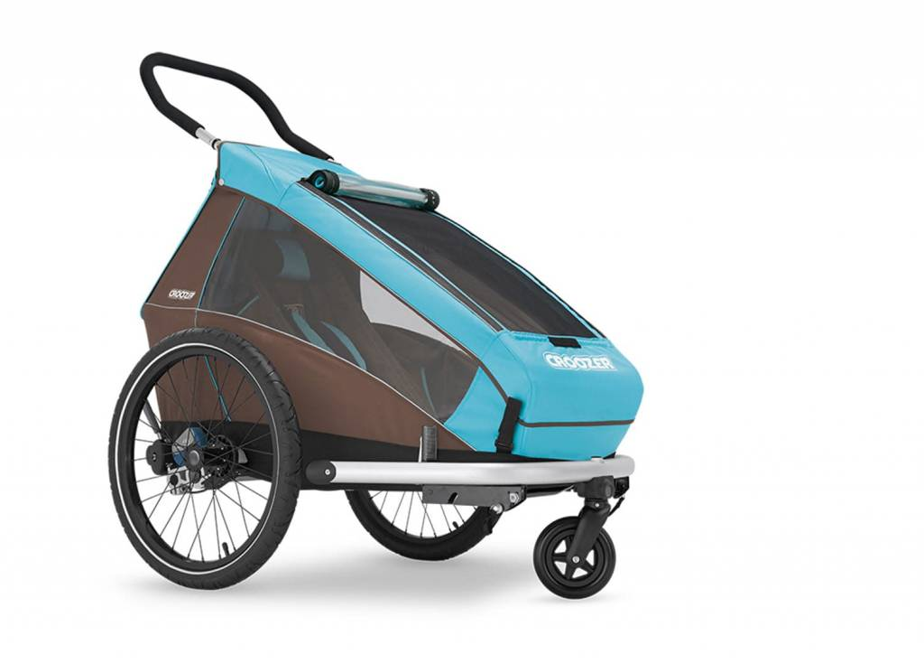 Croozer Croozer Kids Plus 1 Trailer/Jogger/Stroll Blue