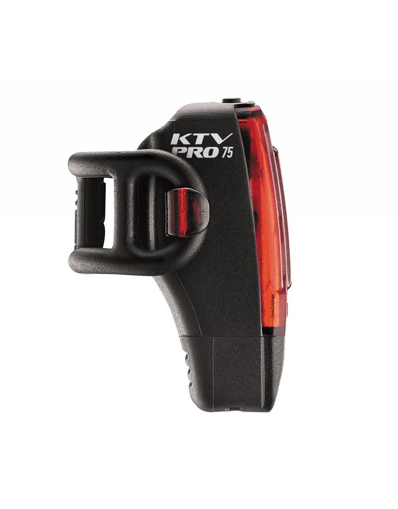 Lezyne Lezyne, KTV Pro Drive Box, Light, Rear, 75 Lumens, Black