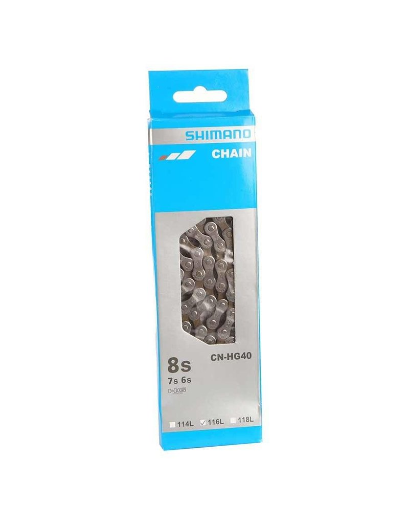 Shimano CHAIN, CN-HG40,116 LINK W/QUICK LINK, 6/7/8/SPEED
