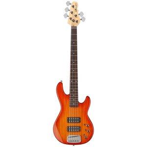 G&L G&L - Tribute - L2500 - 5 String Bass - Honeyburst