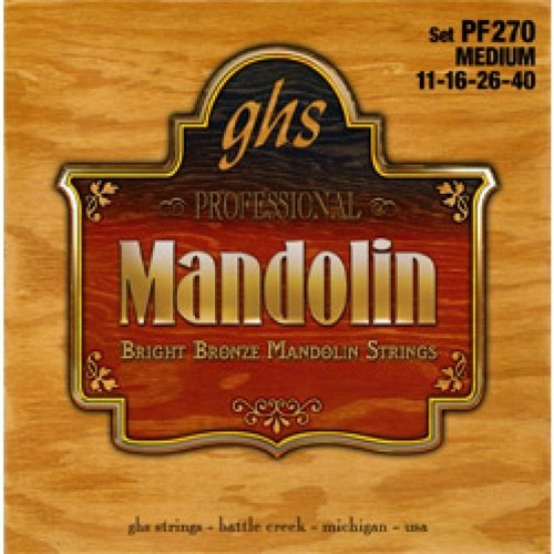 GHS GHS - Mandolin Phosphor Bronze - Medium - A270