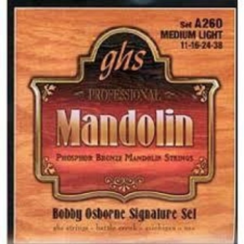 GHS GHS - Mandolin Phosphor Bronze - Med/Light - A260