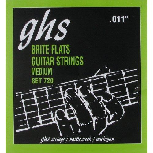 GHS GHS - Brite Flats  Medium - 720 Set - 11-50
