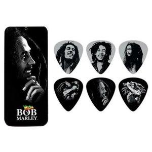 Dunlop Dunlop - Bob Marley Pick Tin - Silver Portrait Series
