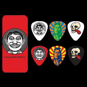 Dunlop Dunlop  - John VanHamersvelt Johnny Face - Pick Tin