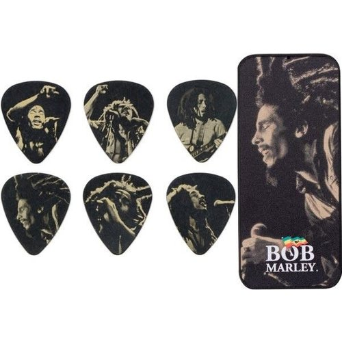 Dunlop Dunlop - Bob Marley - Gold Series - Pick Tin