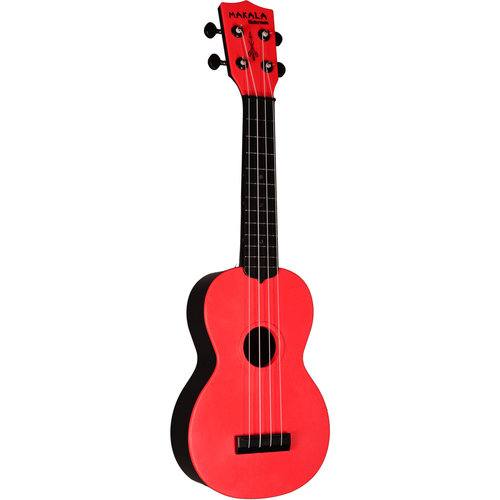 Kala Music Makala - Waterman - Soprano Ukulele - Tomato Red