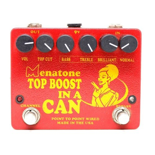 USED - Menatone Top Boost in a Can