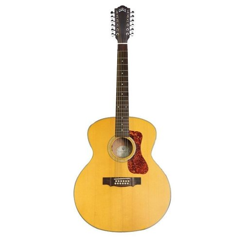 Guild Guitars Guild F-2512E Maple - Natural - 12-string Acoustic - Electric Guitar