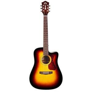 Guild Guitars Guild D-140CE - w/ Polyfoam Case - Antique Burst
