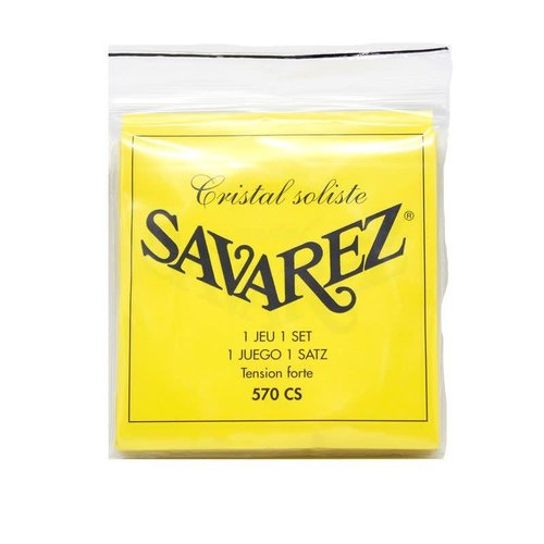 Savarez Savarez - 570CS - High Tension - Nylon String - Cristal Trebles Soliste Basses