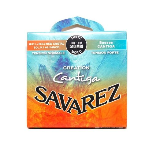 Savarez Savarez - 510MRJ - Mixed Tension - Creation Cantiga - Guitar Nylon Strings