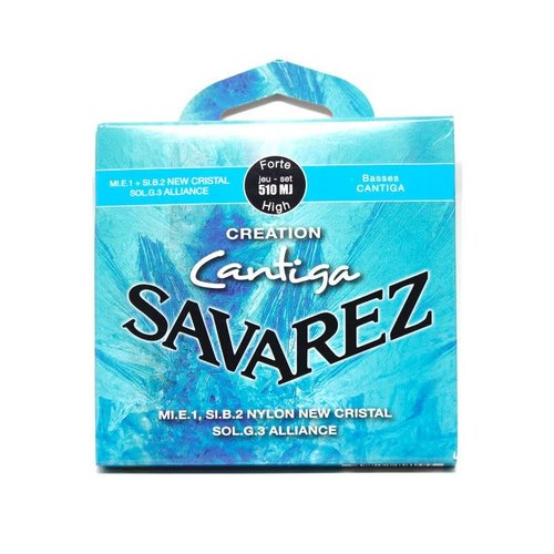 Savarez Savarez - 510MJ - High Tension - Creation Cantiga - Guitar Nylon Strings