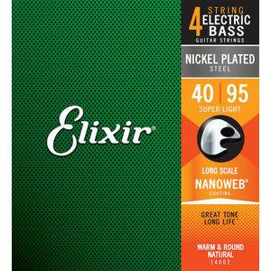 Elixir Elixir - Bass Long Scale - Super Light - 4 Strings - 40-95