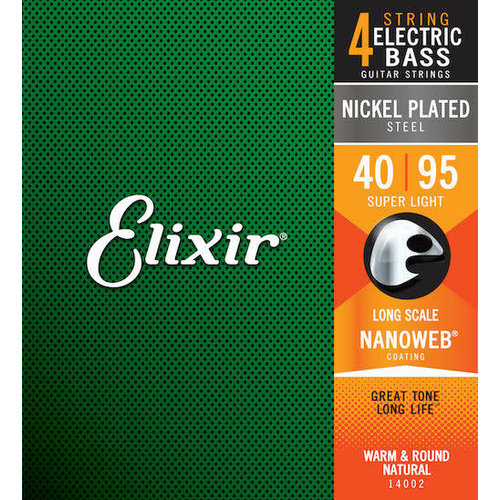Elixir Elixir - Bass Long Scale - Super Light - 4 Strings - 40-95